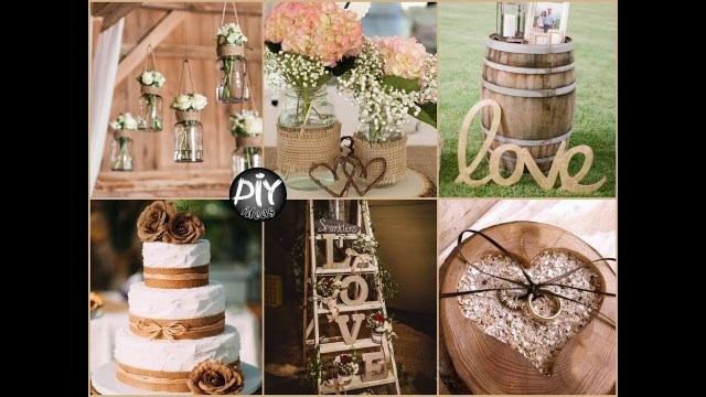 Ideas For Wedding Decorations Decorations Beautiful Rustic Wedding Decor Diy Decorations Ideas