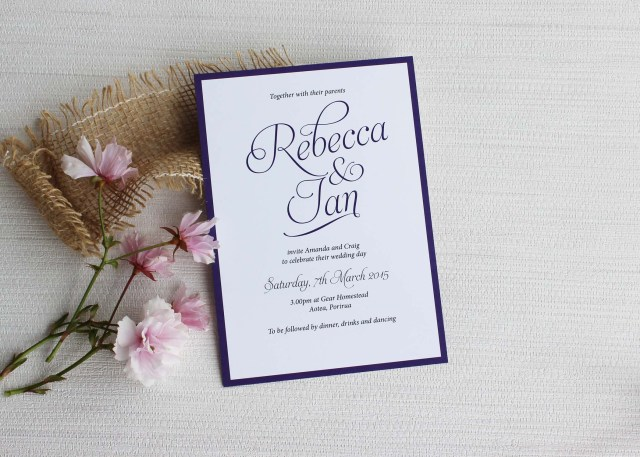 Images Of Wedding Invitations Simple Script Wedding Invitations Be My Guest