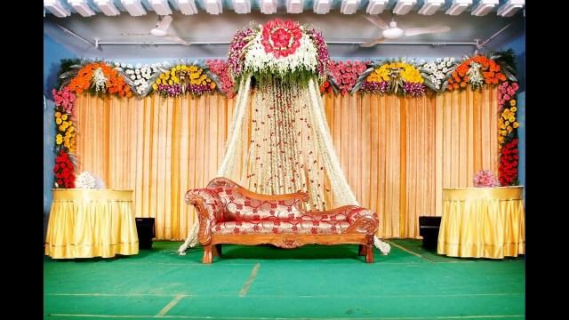 Indian Wedding Decoration 10 Indian Wedding Stage Decorations Youtube