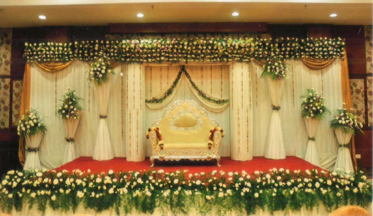 Indian Wedding Flower Decoration Pictures Flower Decoration For Wedding Stage In Chennai Indian Wedding Stage