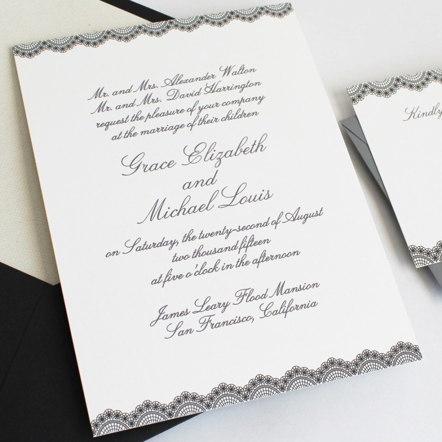 Invitations For Weddings How To Word And Assemble Wedding Invitations Philadelphia Wedding
