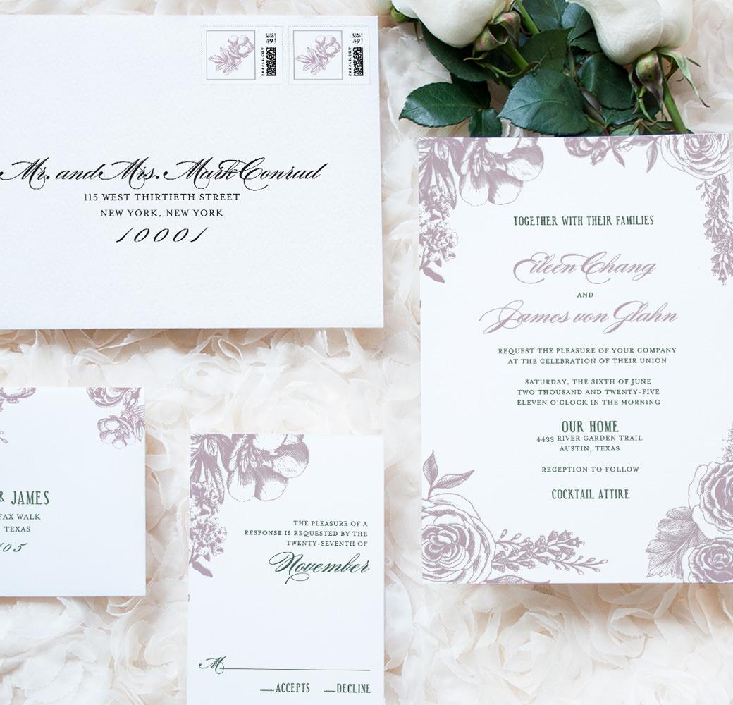 Invitations For Weddings Luxury Wedding Invitations Custom Designed Stationery Ceci New York
