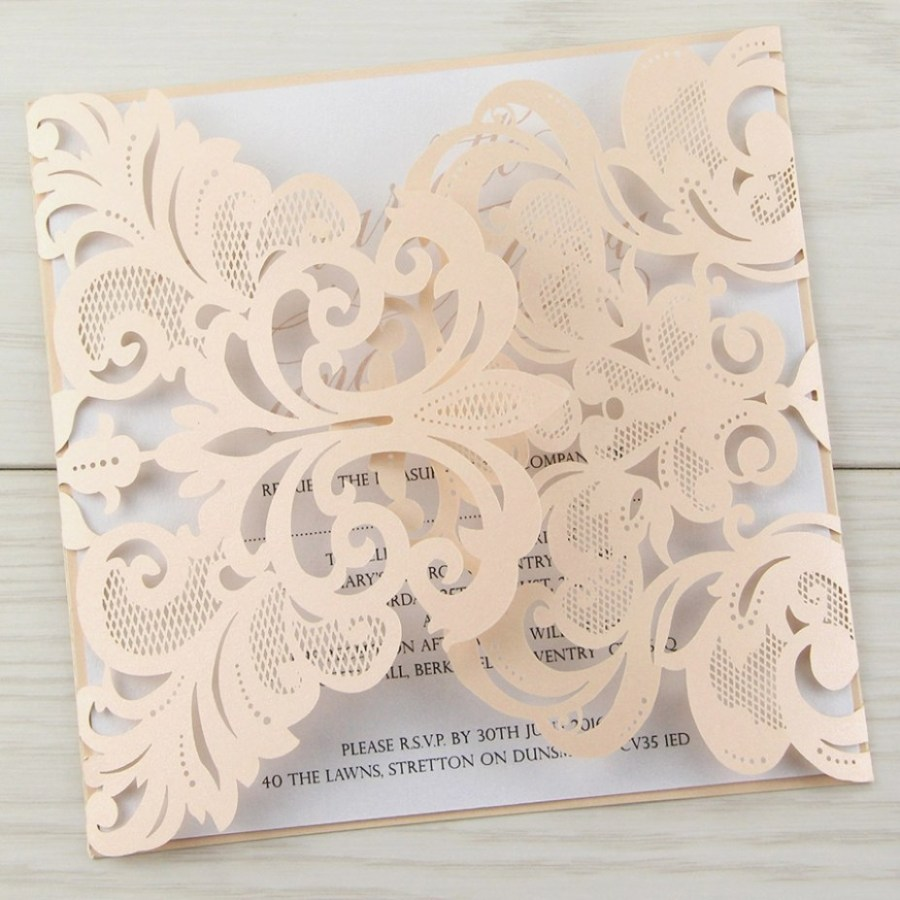 Laser Cut Wedding Invitations Diy Laser Cut Wedding Invitations Diy Awesome Laser Cut Wedding