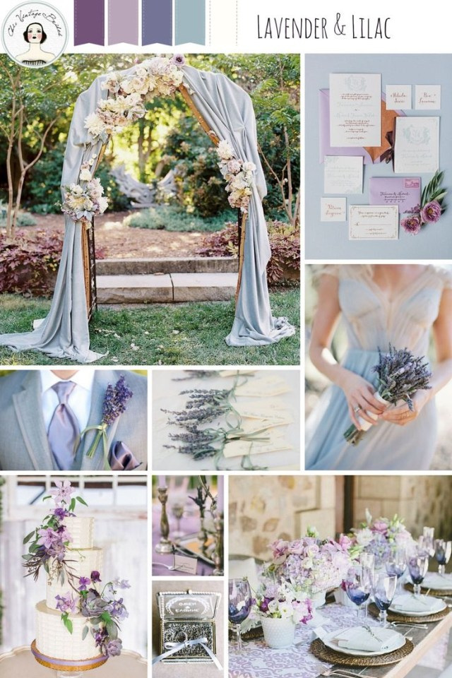 Lavender Wedding Decorations Lavender Wedding Decorations And Also Retro Wedding Vases