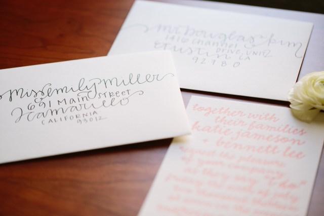 Mailing Wedding Invitations Diy Wedding Envelope Addressing Tips Julep