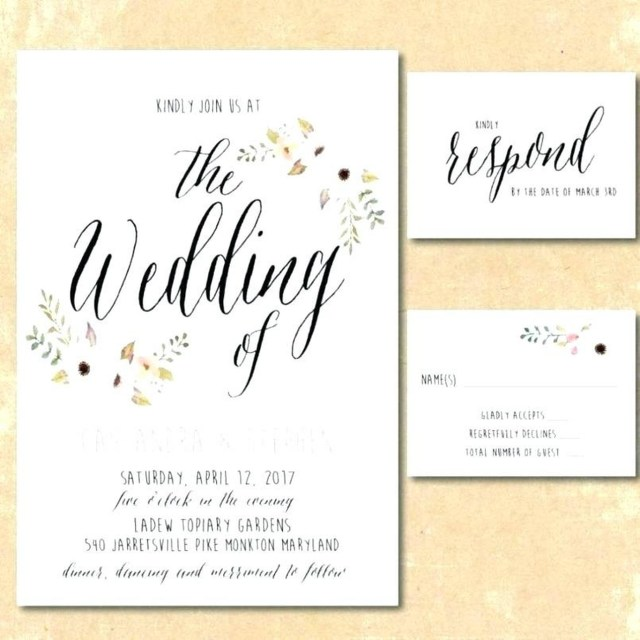 30+ Brilliant Photo Of Making Your Own Wedding Invitations