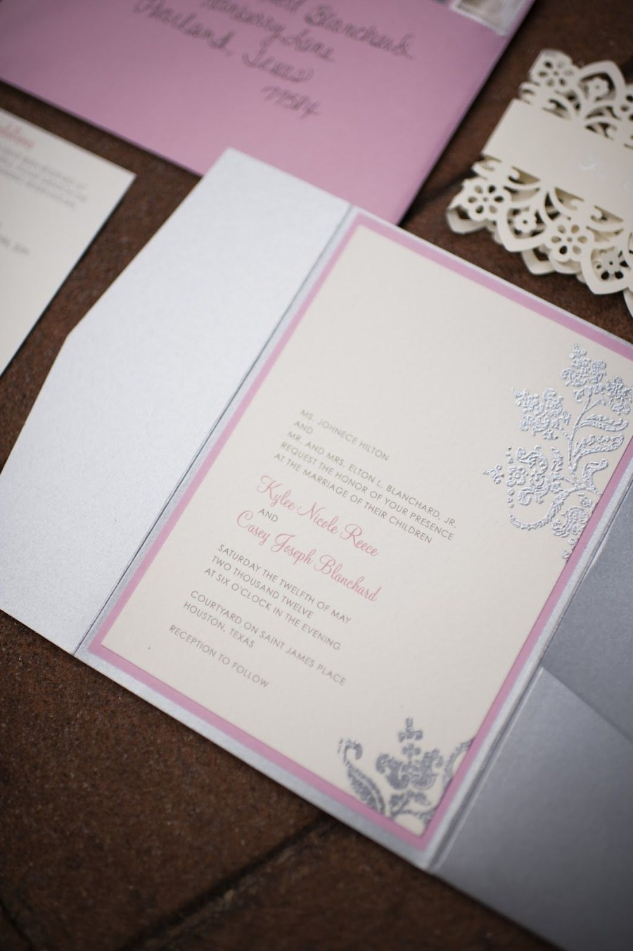 Making Your Own Wedding Invitations The Little Woman How To Make Your Own Wedding Invitations Gray