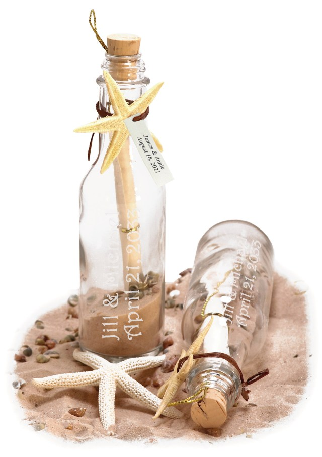 Message In A Bottle Wedding Invitations Tropical Beach Wedding Invitation In A Bottle Hansonellis
