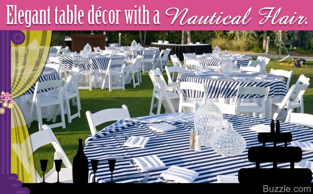 Nautical Wedding Decor Drop Anchor With Nautical Themed Wedding Decoration Ideas
