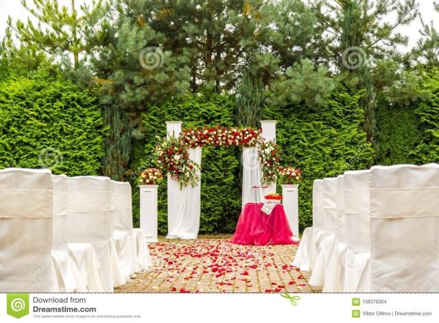 Outdoor Wedding Ceremony Decorations Decorations Garden Wedding Ceremony Decor Ideas Backdrop Rentals