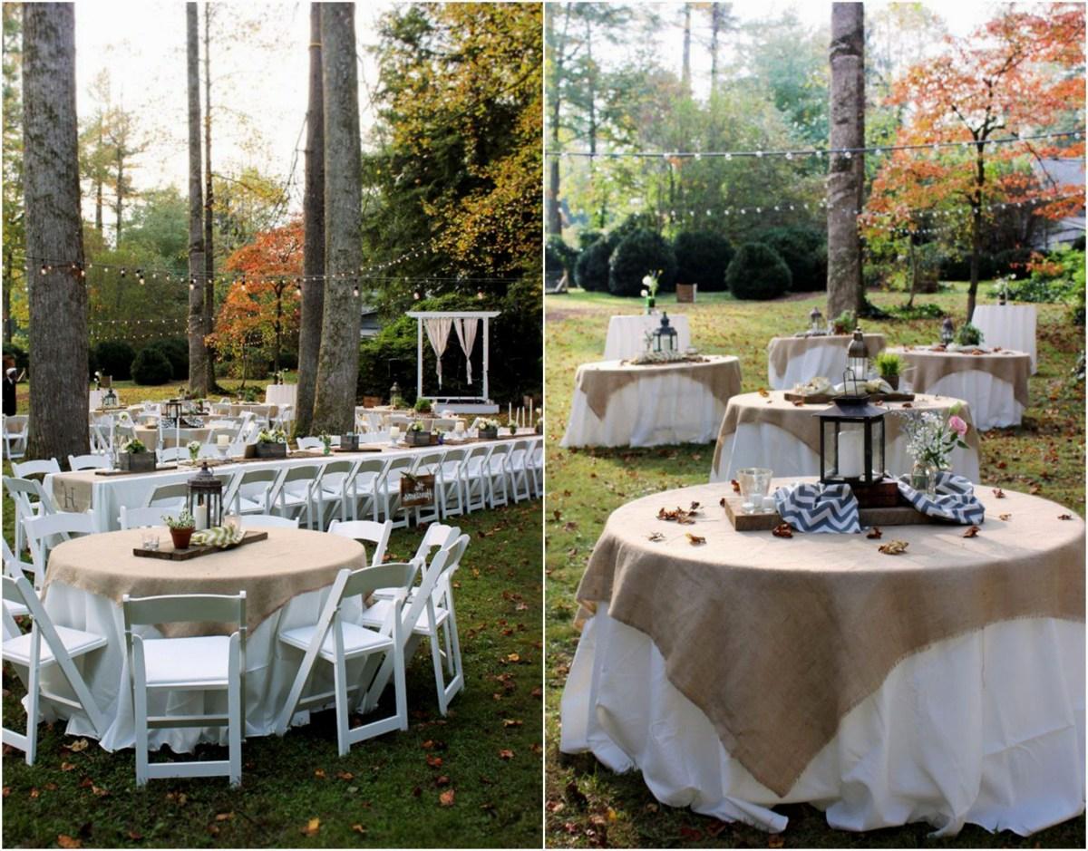 Outdoor Wedding Decorating Ideas Decorations Garden Wedding Decor Reception Ideas 50th Anniversary