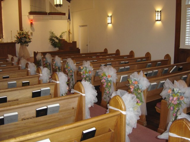 Pew Decorations For Weddings Alternative Wedding Pew Decorations Cakegirlkc Com How To Make