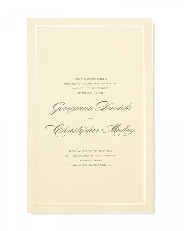 Print At Home Wedding Invitations Pearl Foil Print At Home Invitation Kit Gartner Studios