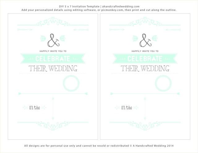 Print At Home Wedding Invitations Print At Home Wedding Invitations Frais Design Your Own Wedding