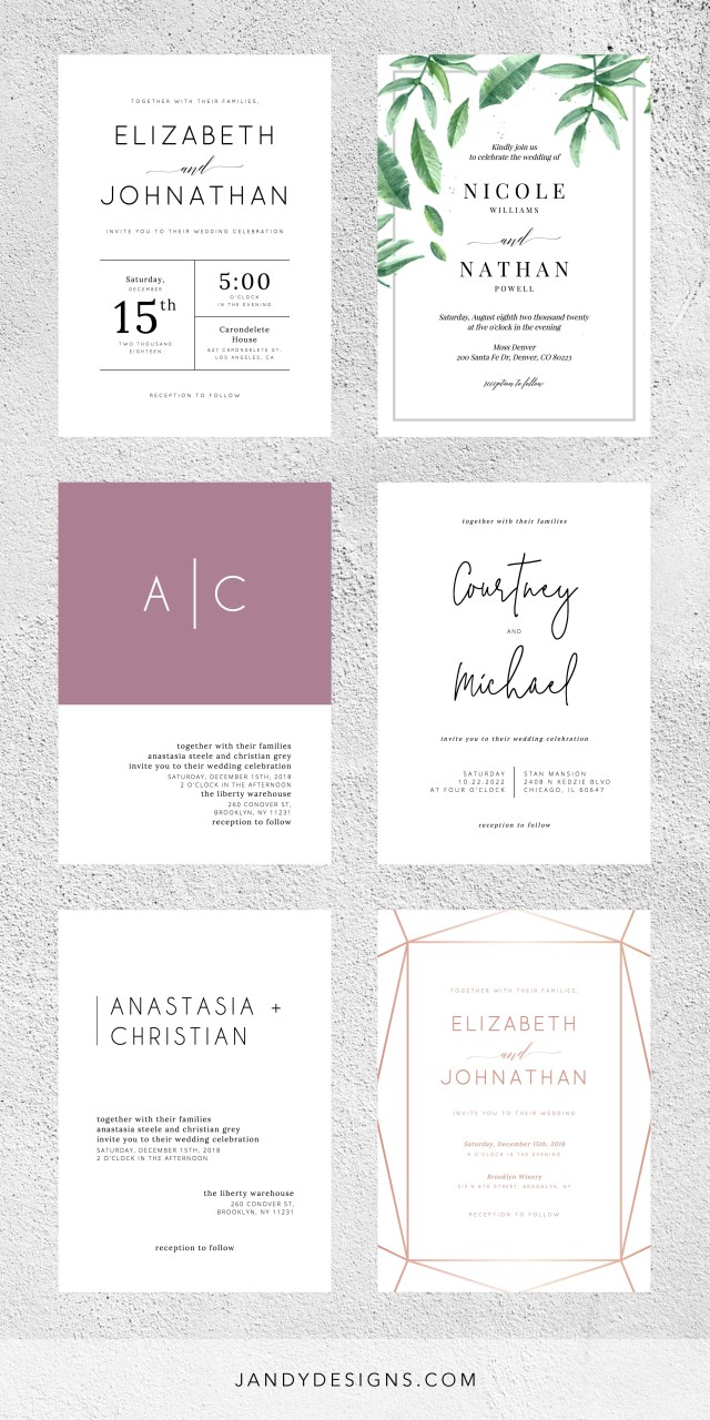 Printable Wedding Invitations Templates 31 Wedding Invitations Los Angeles Memberylondon