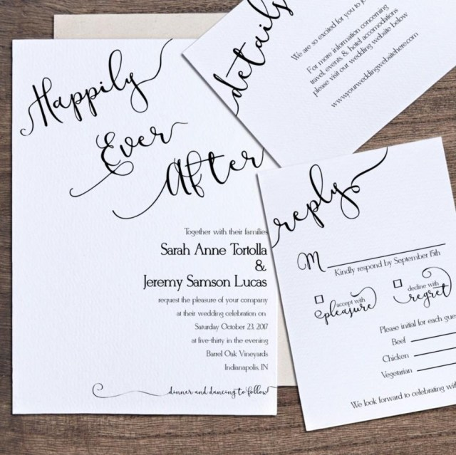 Printable Wedding Invitations Templates Wedding Invitation Template Printable Wedding Invitation Happily