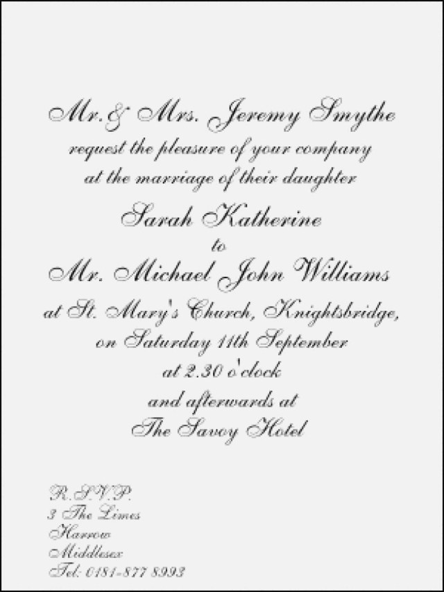 Proper Wedding Invitation Proper Wedding Invitation Wording Luxury Wording Wedding Pinterest