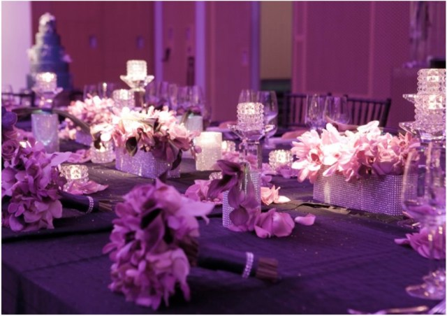 Purple And Silver Wedding Decorations Rarevender And Silver Wedding Decorations Purple Styled Enchanted