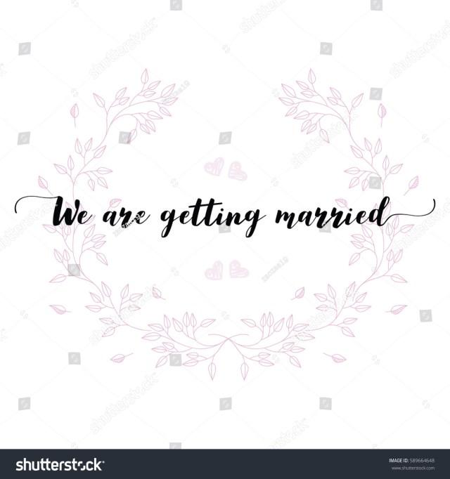Quotes For Wedding Invitations Wedding Quotes Set Design Wedding Invitations Stock Vektorgrafik