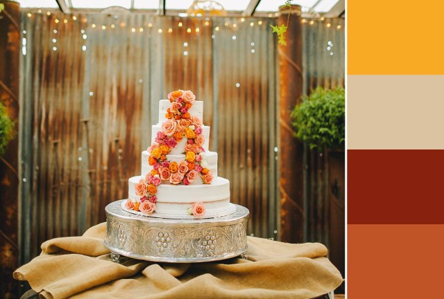 Red And Brown Wedding Decorations 60 Wedding Color Combinations Youll Love Shutterfly