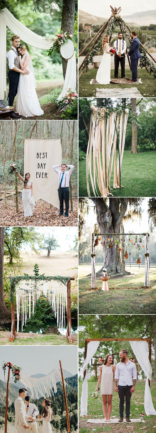 Redneck Wedding Decoration Ideas 25 Chic And Easy Rustic Wedding Arch Ideas For Diy Brides