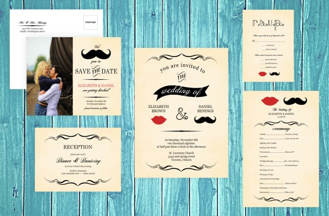 Retro Wedding Invitations Vintage Wedding Ideas Retro Decor Attire Invitations Jewelry