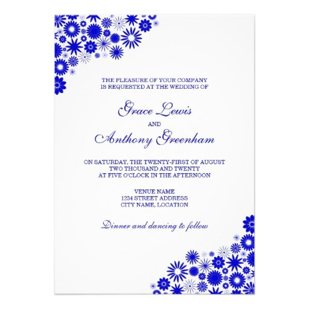 Royal Blue And Silver Wedding Invitations Royal Blue And Silver Wedding Invitation Cards Printable Navy