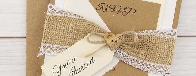 Rustic Wedding Invitations Dakota Parcel Wedding Invitation Pure Invitation Wedding Invites