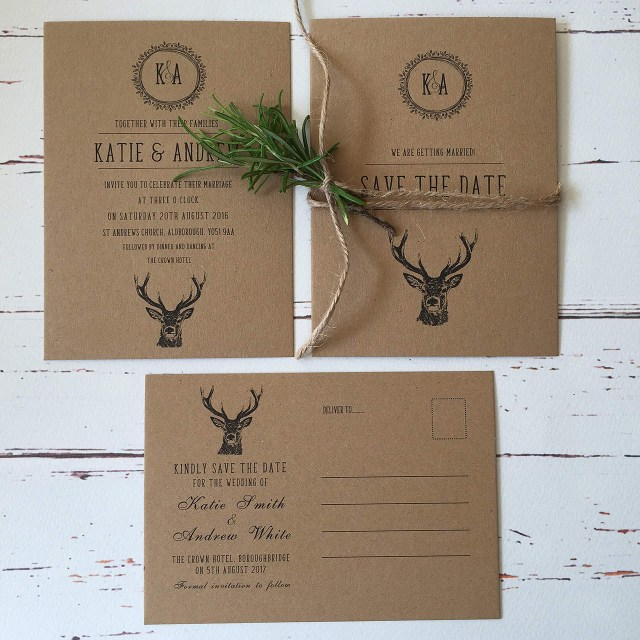 Rustic Wedding Invitations Rustic Wedding Invitations And Stationery Wagtail Designs