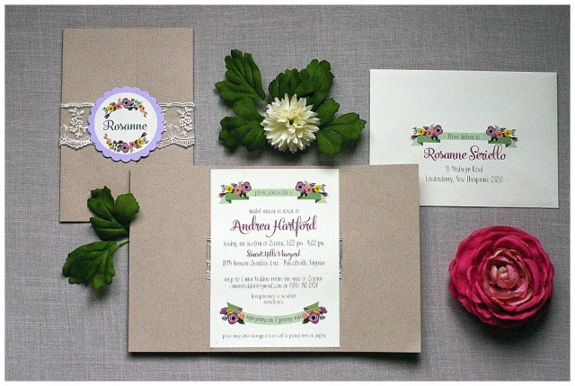Rustic Wedding Shower Invitations Rustic Bridal Shower Invitations Gourmet Invitations