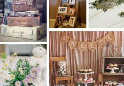 Shabby Chic Wedding Decorations Shab Chic Vintage Wedding Ideas The Barn At Cott Farm Somerset