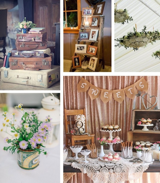 Shabby Chic Wedding Decorations Shab Chic Vintage Wedding Ideas The Barn At Cott Farm Somerset