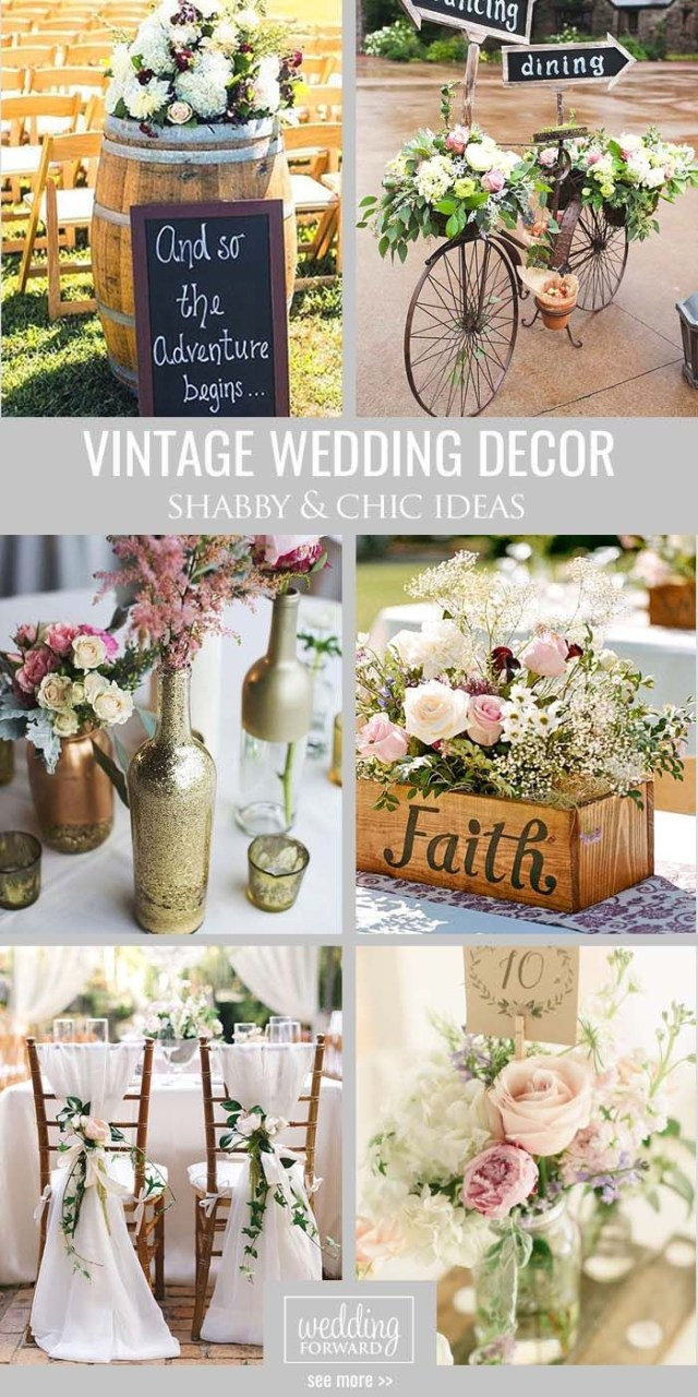 Shabby Chic Wedding Decorations Vintage Shab Chic Wedding Decor Shab Chic Vintage Wedding Decor
