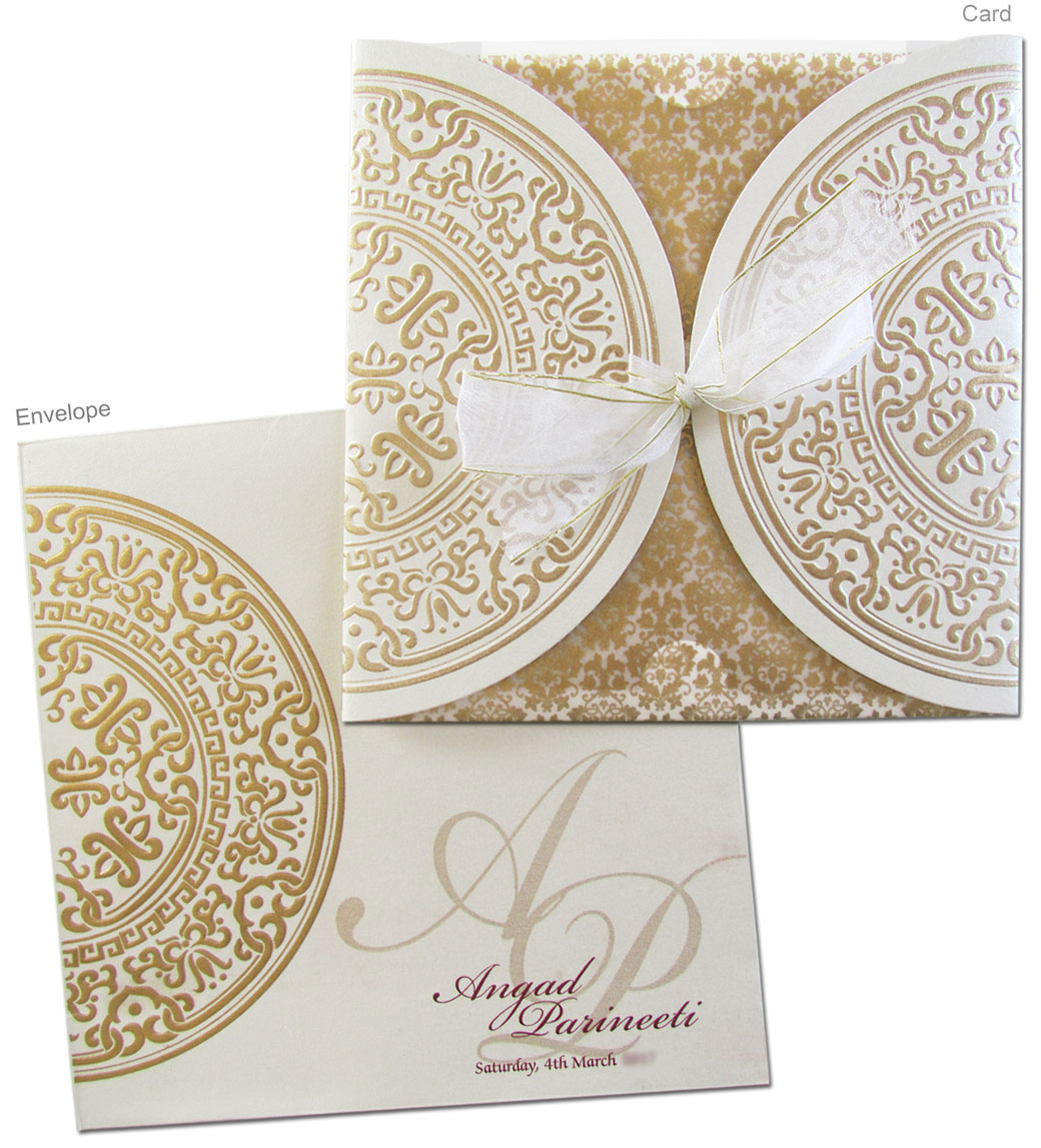 Sikh Wedding Invitations Regal Cards Indian Wedding Cards