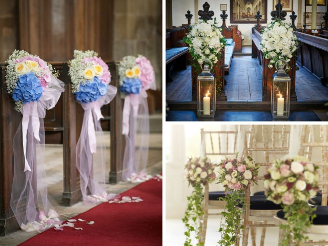 Simple Church Wedding Decorations 10 Ways To Decorate Your Wedding Venue With Flowers