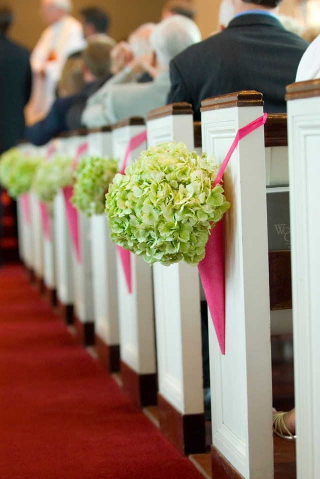 Simple Church Wedding Decorations Diy Church Pew Decorationsor Wedding Markers Ideas Weddingslowers