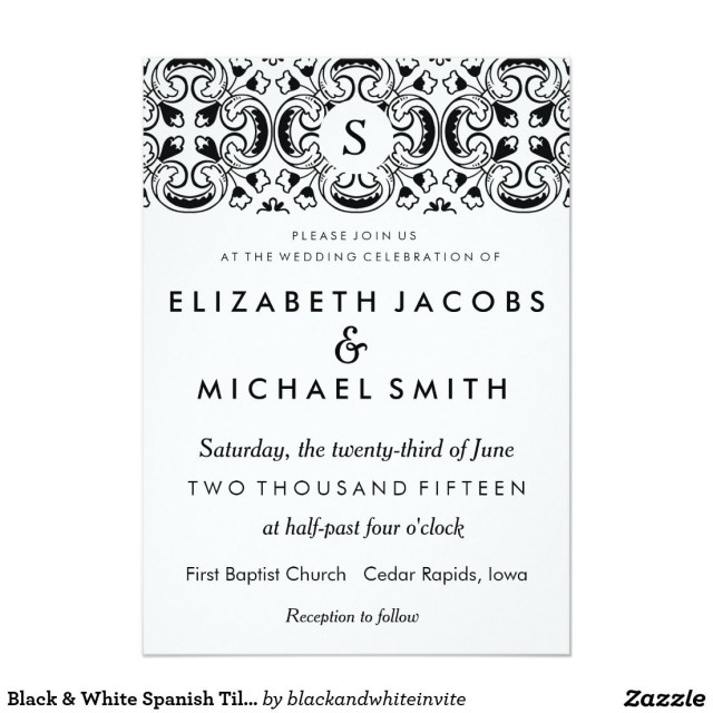Spanish Wedding Invitations Wedding Invitations In Spanish Modern Templates More Httpwww