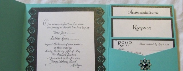 Teal Wedding Invitations Kits Blank Wedding Invitation Kits Check More Image At Httpbrilliant