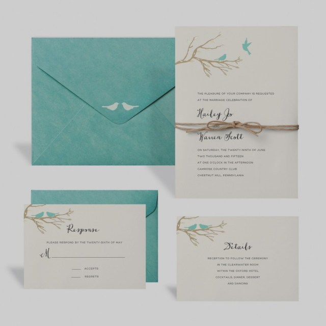 Teal Wedding Invitations Kits Wedding Invitation Kits Michaels Buy The Love Birds Kit Celebrate