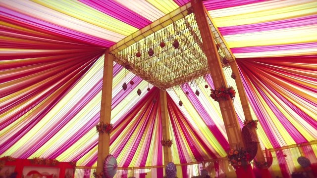 Traditional Wedding Tent Decorations Indian Traditional Wedding Decor Youtube