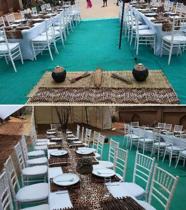 Traditional Wedding Tent Decorations The Umembeso Process Inspiration For Decor And Photos Zulu Traditions