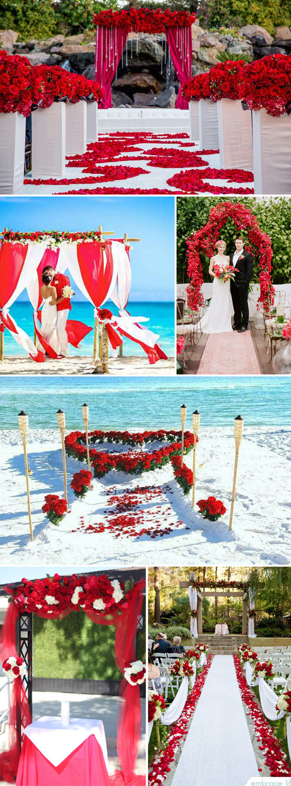 Turquoise And White Wedding Decorations 40 Inspirational Classic Red And White Wedding Ideas