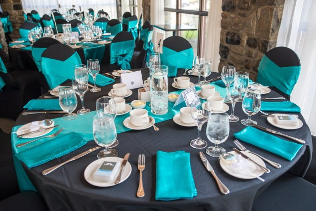 Turquoise And White Wedding Decorations Black White And Turquoise Wedding Decor Maelovestore Maelovestore