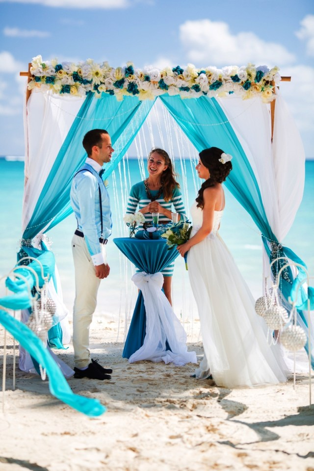 Turquoise And White Wedding Decorations Ocean White And Turquoise Wedding Decorations Wohh Wedding