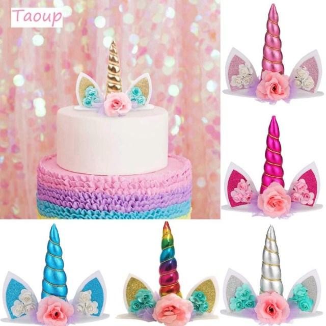 Wedding Cake Decorating Supplies Taoup Wedding Bashower Unicorn Cake Topper Wedding