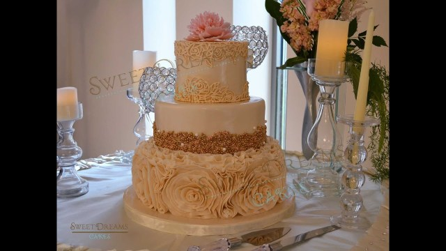 Wedding Cake Pearl Decorations How To Make Gold Pearls Or Dragee Candy For Cake Decorating Youtube
