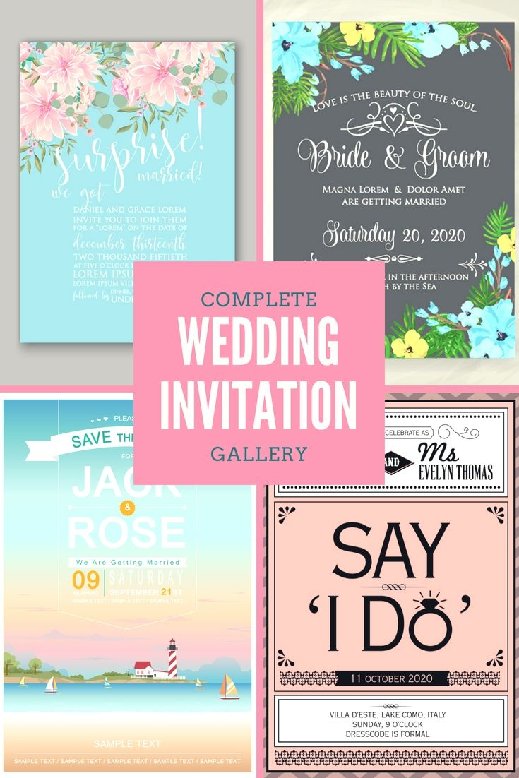 Wedding Celebration Invitations A Totally Free Wedding Invitation Cards Samples Go Arranging Your
