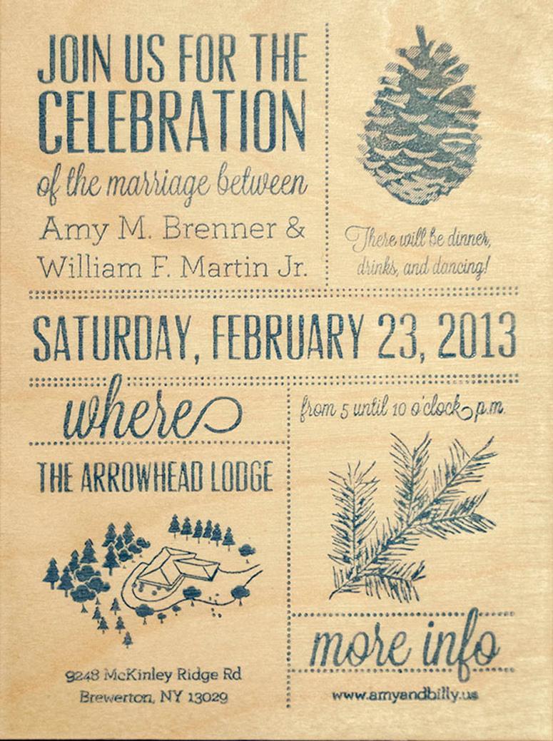 Wedding Celebration Invitations Fpo Amy Billys Wedding Celebration Invitation