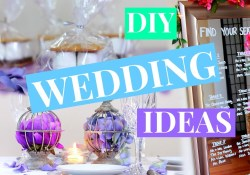 Wedding Decoration Ideas Diy 3 Easy Wedding Decor Ideas Wedding Diy Nia Nicole Youtube