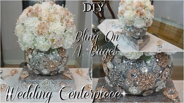 Wedding Decorations Handmade Diy Glam Wedding Centerpiece Diy Wedding Decorations Diy Tutorial